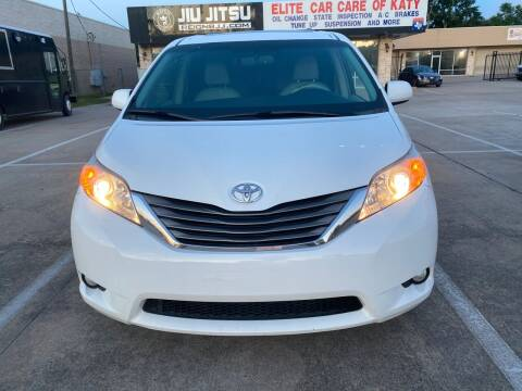 2013 Toyota Sienna for sale at Houston Auto Gallery in Katy TX