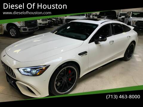 2019 Mercedes-Benz AMG GT for sale at Diesel Of Houston in Houston TX