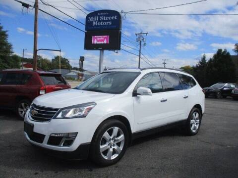 2016 Chevrolet Traverse for sale at Mill Street Motors in Worcester MA
