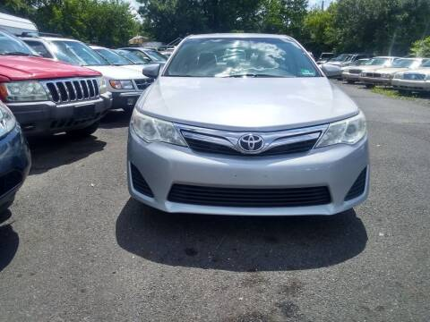 2012 Toyota Camry for sale at Wilson Investments LLC in Ewing NJ