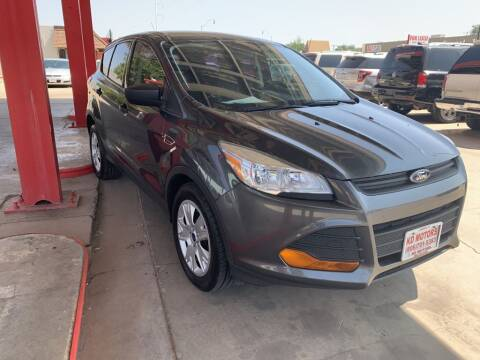 2016 Ford Escape for sale at KD Motors in Lubbock TX