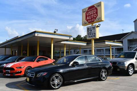 2017 Mercedes-Benz E-Class for sale at Houston Used Auto Sales in Houston TX