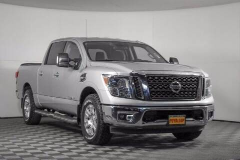 2017 Nissan Titan for sale at Chevrolet Buick GMC of Puyallup in Puyallup WA