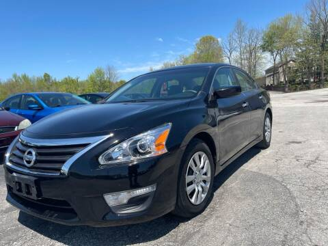 2015 Nissan Altima for sale at Best Buy Auto Sales in Murphysboro IL
