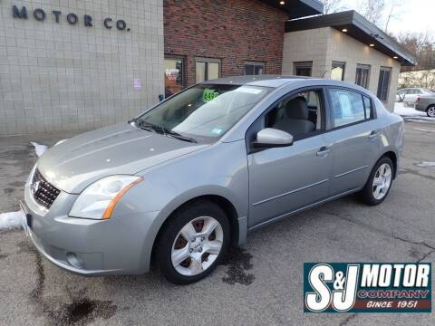 2008 Nissan Sentra for sale at S & J Motor Co Inc. in Merrimack NH