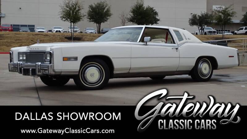 1977 Cadillac Eldorado for sale in Grapevine, TX
