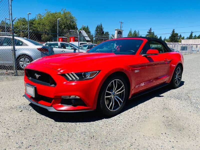2015 Ford Mustang for sale at House of Hybrids in Burien WA