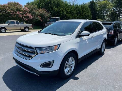 2017 Ford Edge for sale at Getsinger's Used Cars in Anderson SC