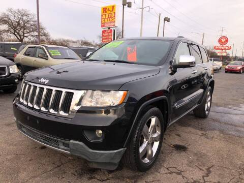 2011 Jeep Grand Cherokee for sale at RJ AUTO SALES in Detroit MI