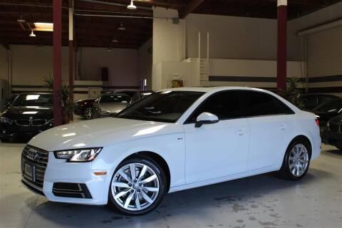 2018 Audi A4 for sale at SELECT MOTORS in San Mateo CA