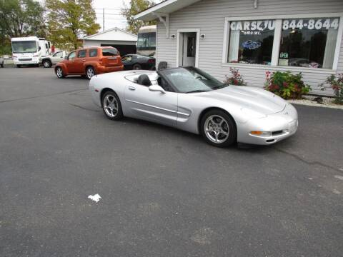 2003 Chevrolet Corvette for sale at Cars 4 U in Liberty Township OH