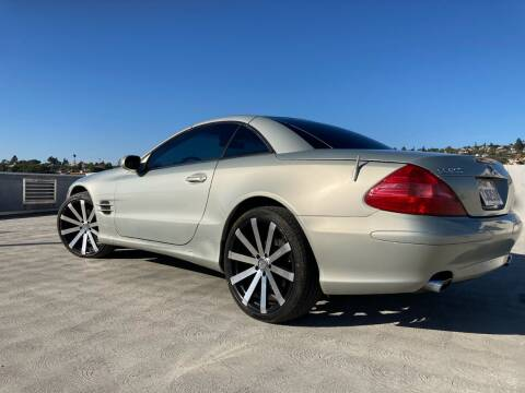 2003 Mercedes-Benz SL-Class for sale at Trini-D Auto Sales Center in San Diego CA
