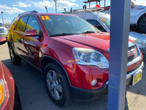 2012 GMC Acadia for sale at New Wave Auto Brokers & Sales in Denver CO