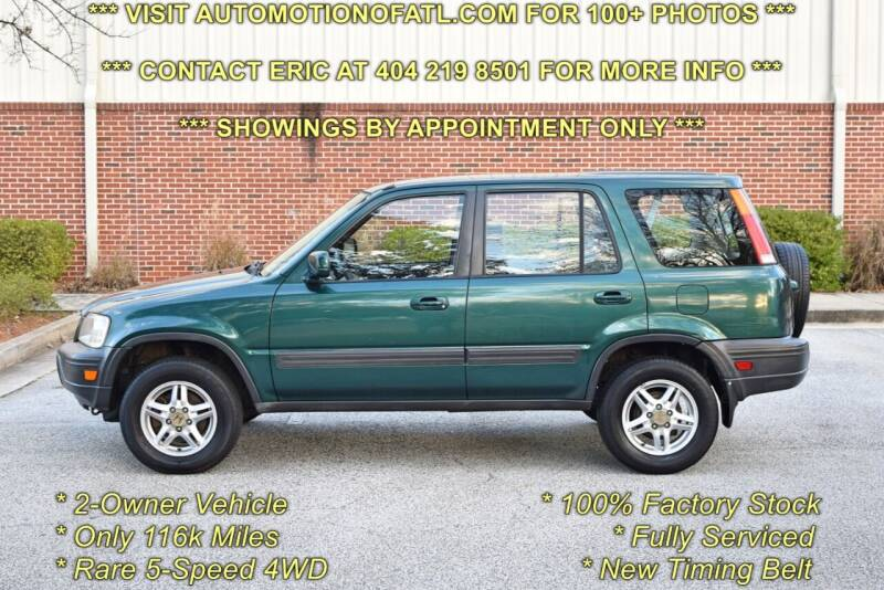 1999 Honda CR-V for sale at Automotion Of Atlanta in Conyers GA