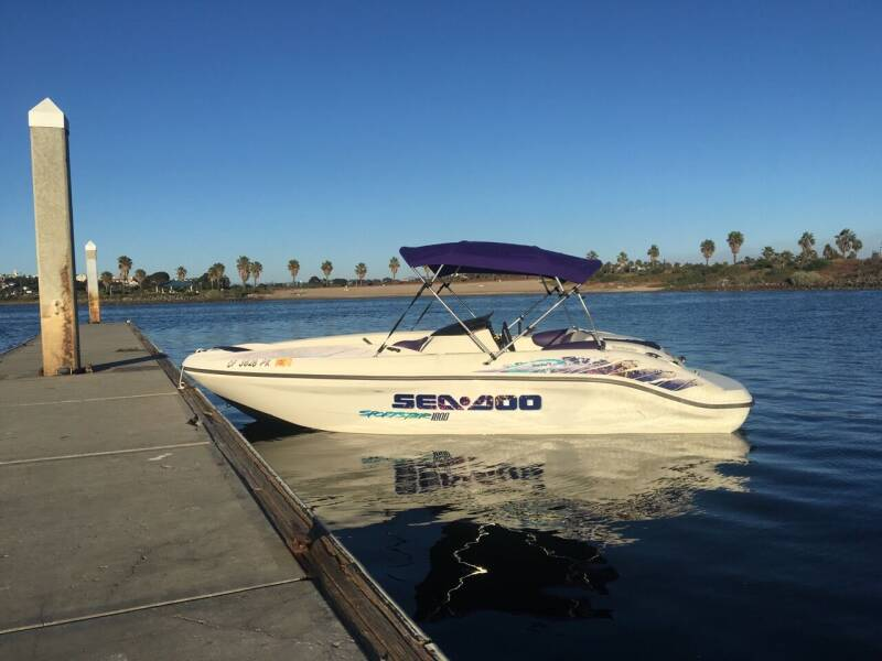 1998 Sea-Doo sportester challenger for sale at MotorSport Auto Sales in San Diego CA