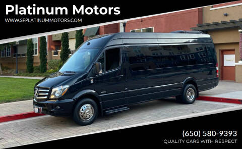 2015 Mercedes-Benz Sprinter Cargo for sale at Platinum Motors in San Bruno CA