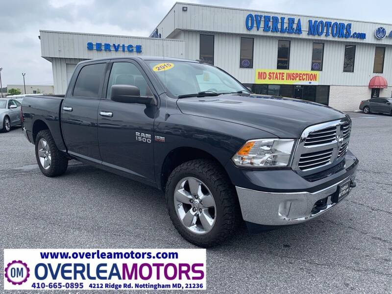 2015 RAM Ram Pickup 1500 for sale at Overlea Motors in Baltimore MD