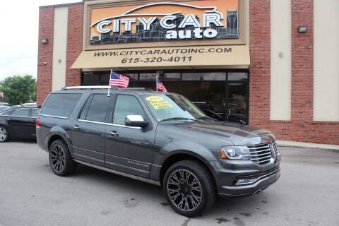 2016 Lincoln Navigator L for sale at CITY CAR AUTO INC in Nashville TN