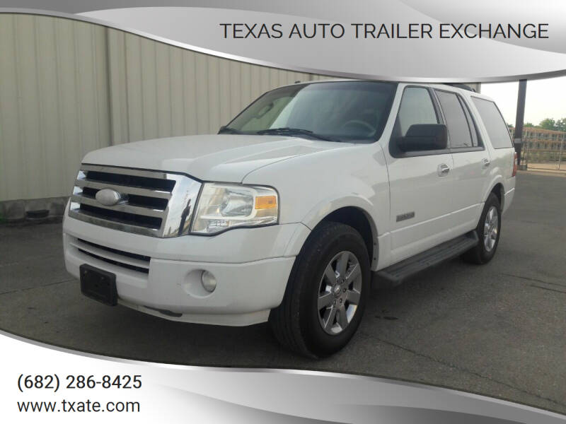 2008 Ford Expedition for sale at Texas Auto Trailer Exchange in Cleburne TX
