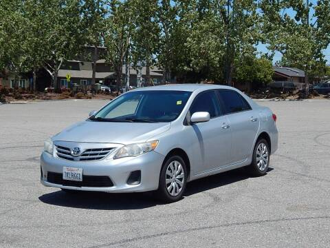 2013 Toyota Corolla for sale at Crow`s Auto Sales in San Jose CA