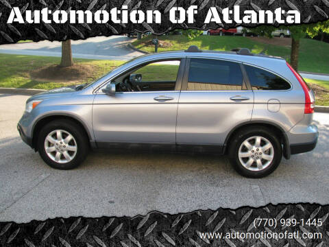 2008 Honda CR-V for sale at Automotion Of Atlanta in Conyers GA