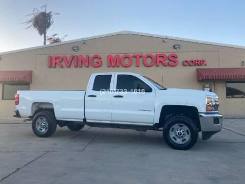 2016 Chevrolet Silverado 2500HD for sale at Irving Motors Corp in San Antonio TX