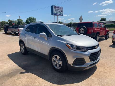2018 Chevrolet Trax for sale at JORGE'S MECHANIC SHOP & AUTO SALES in Houston TX