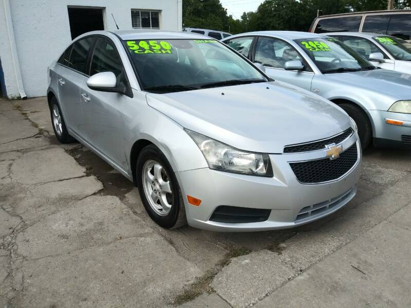 2014 Chevrolet Cruze for sale at Street Side Auto Sales in Independence MO