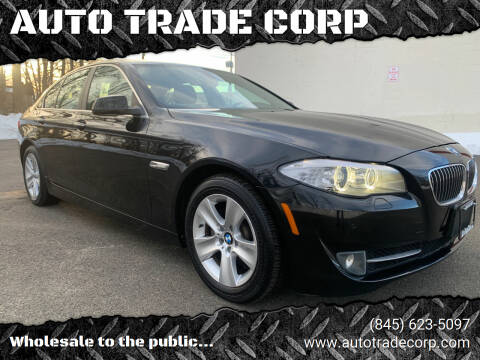 2013 BMW 5 Series for sale at AUTO TRADE CORP in Nanuet NY