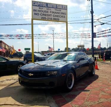 2013 Chevrolet Camaro for sale at CAPITOL AUTO SALES LLC in Baton Rouge LA