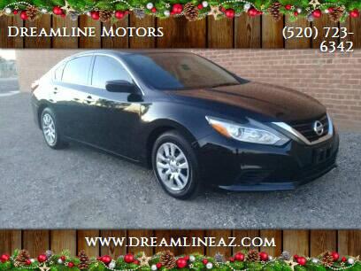 2016 Nissan Altima for sale at Dreamline Motors in Coolidge AZ