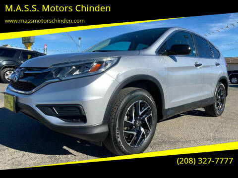 2016 Honda CR-V for sale at M.A.S.S. Motors Chinden in Garden City ID