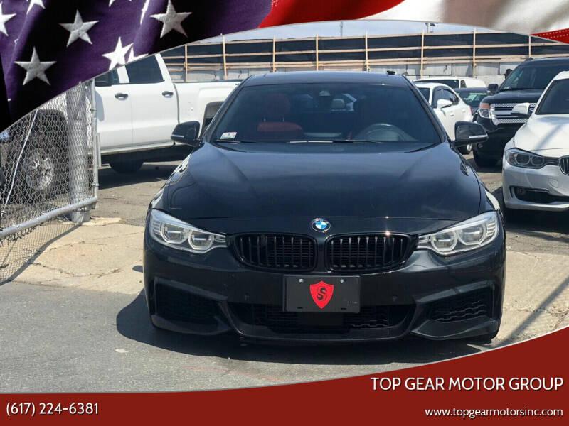 2015 BMW 4 Series for sale at Top Gear Cars LLC in Lynn MA