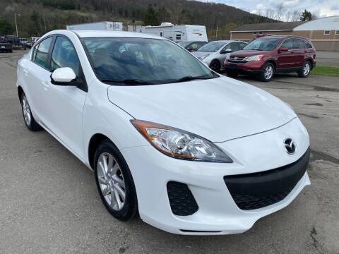 2012 Mazda MAZDA3 for sale at DETAILZ USED CARS in Endicott NY
