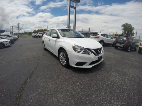 2018 Nissan Sentra for sale at MARTINDALE CHEVROLET in New Madrid MO