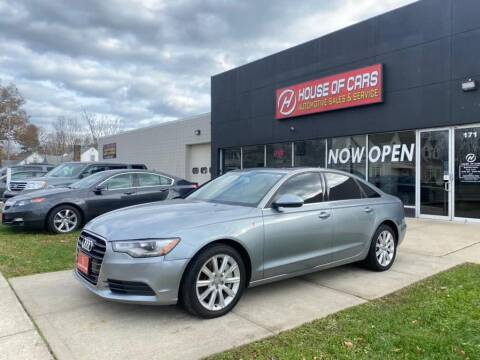2014 Audi A6 for sale at HOUSE OF CARS CT in Meriden CT