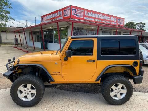 2012 Jeep Wrangler for sale at LA Auto Sales in Monroe LA
