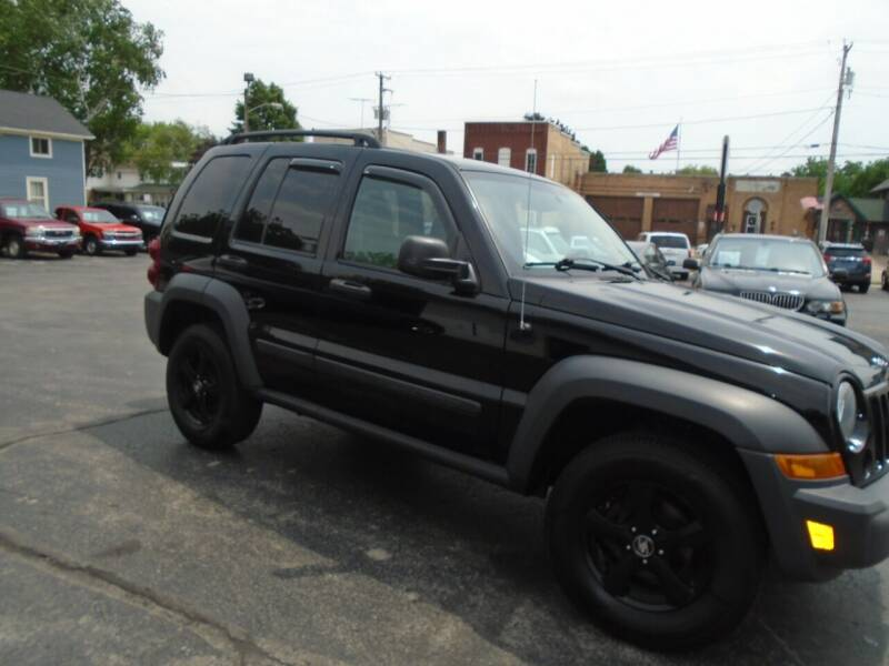 2007 Jeep Liberty for sale at NORTHLAND AUTO SALES in Dale WI