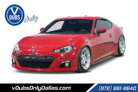 2013 Subaru BRZ for sale at VDUBS ONLY in Dallas TX
