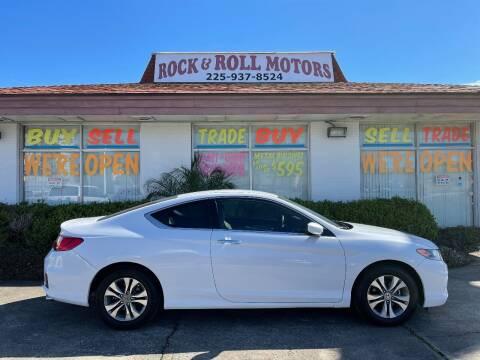 2014 Honda Accord for sale at Rock & Roll Motors in Baton Rouge LA