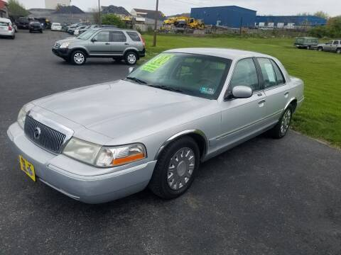2003 Mercury Grand Marquis for sale at Credit Connection Auto Sales Inc. CARLISLE in Carlisle PA