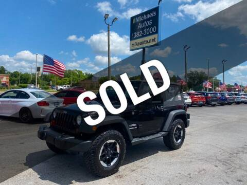 2013 Jeep Wrangler for sale at Michaels Autos in Orlando FL