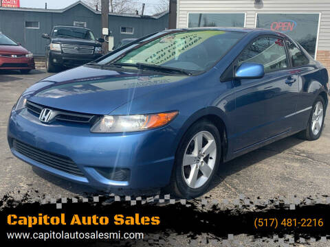 2006 Honda Civic for sale at Capitol Auto Sales in Lansing MI