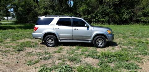 2004 Toyota Sequoia for sale at Rustys Auto Sales - Rusty's Auto Sales in Platte City MO