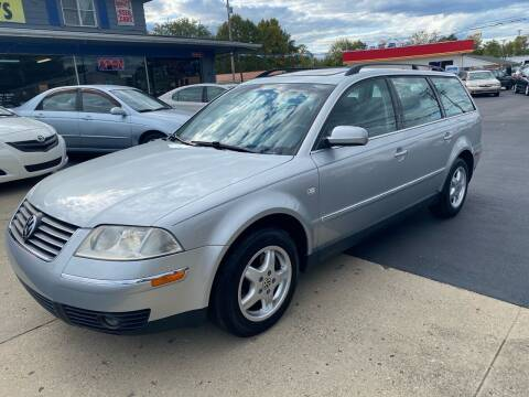 2001 Volkswagen Passat for sale at Wise Investments Auto Sales in Sellersburg IN