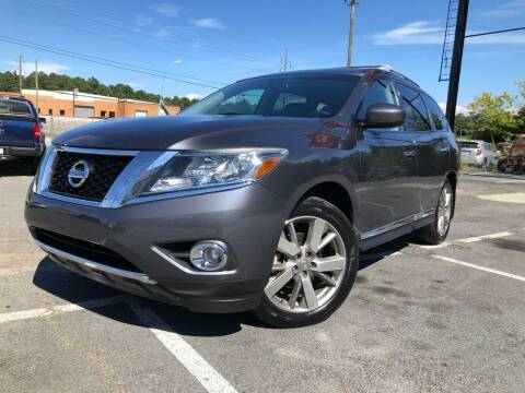 2013 Nissan Pathfinder for sale at Atlas Auto Sales in Smyrna GA
