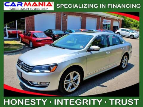 2014 Volkswagen Passat for sale at CARMANIA LLC in Chesapeake VA