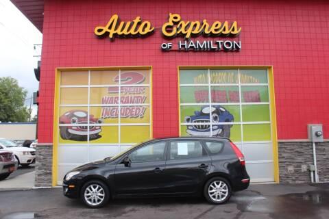 2009 Hyundai Elantra for sale at AUTO EXPRESS OF HAMILTON LLC in Hamilton OH