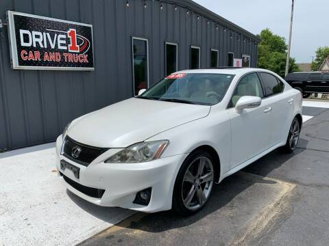 2011 Lexus IS 250 for sale at Drive 1 Car & Truck in Springfield OH