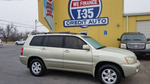 2003 Toyota Highlander for sale at Buy Here Pay Here Lawton.com in Lawton OK